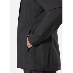 Haedn LT Blazer Graphite Heather Hand Pocket