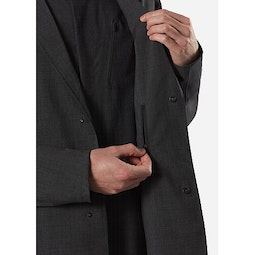 Haedn LT Blazer Graphite Heather Internal Security Pocket