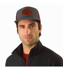 Hexagonal Trucker Hat Pilot Front View