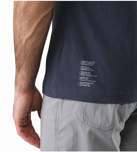 ハット Tシャツ ナイトホーク 背面グラフィック 拡大