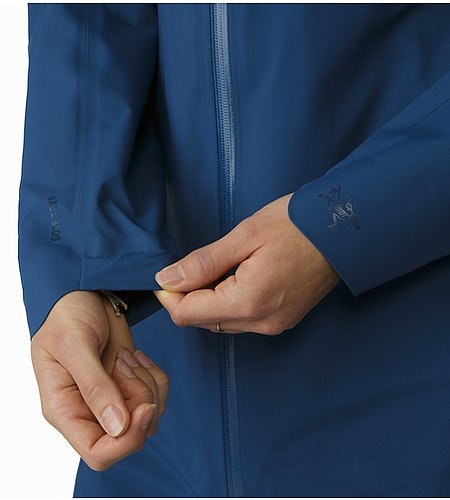 Imber Jacket Women's Poseidon Cuff