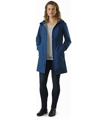 Imber Jacket Women's Poseidon Outfit