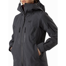 Incendia Jacket Women's Black Heather Hand Pocket