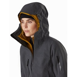 Incendia One Piece Women's Black Heather Hood Up