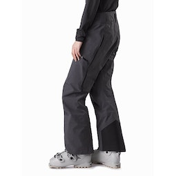 Incendia Pant Women's Black Heather Back View