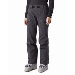 Incendia Pant Women's Black Heather Front View