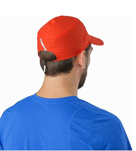 Incendo Hat Cardinal Back View