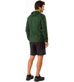 Incendo Hoody Conifer Back View