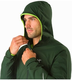 Incendo Hoody Conifer Hood Up