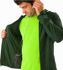 Incendo Hoody Conifer Security Pocket And Media Port