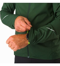 Incendo Hoody Conifer Stretch Cuffs