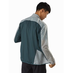 Incendo SL Jacket Light Labyrinth Back View