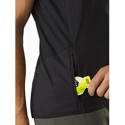 Incendo Vest Black Hand Pocket