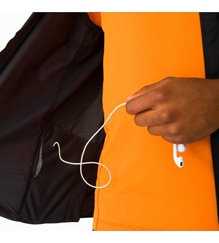 Incendo Vest Black Security Pocket And Media Port