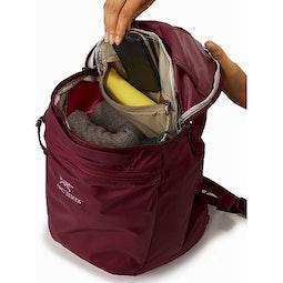 Index 15 Backpack Dark Dakini Internal Security Pocket