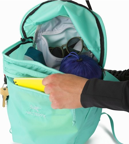 Index 15 Rucksack Illucinate Innenansicht