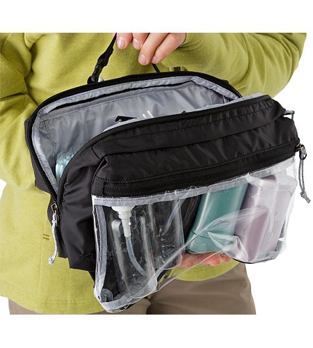 Index Large Toiletries Bag Black 2322