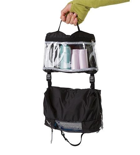 Index Large Toiletries Bag Black 2332