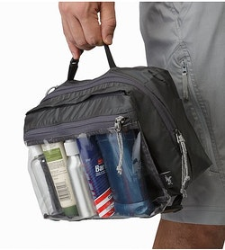 5050f97a6dd0 Index Large Toiletries Bag Pilot Top Carry Handle