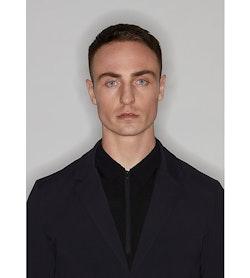 Indisce Blazer Black Collar