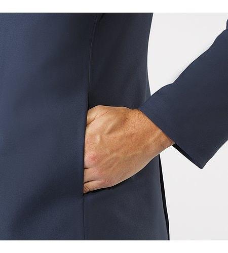 Indisce Blazer Dark Navy Hand Pocket