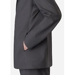 Indisce Blazer Graphite Hand Pocket