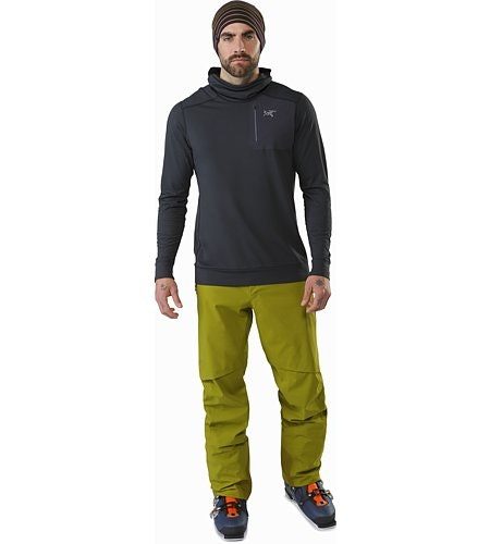 Iser Pant Olive Amber Front View