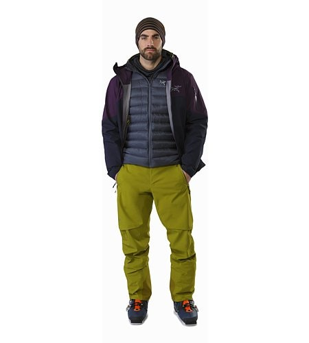 Iser Pant Olive Amber Outfit Open