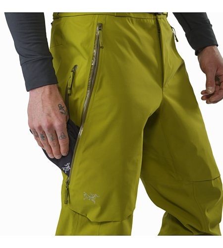 Iser Pant Olive Amber Thigh Pocket