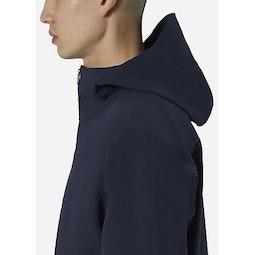 Isogon MX Jacket Deep Navy Collar