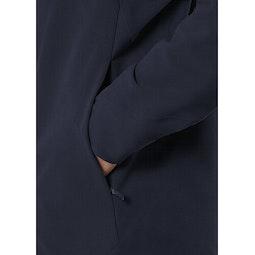 Isogon MX Jacket Deep Navy Hand Pocket