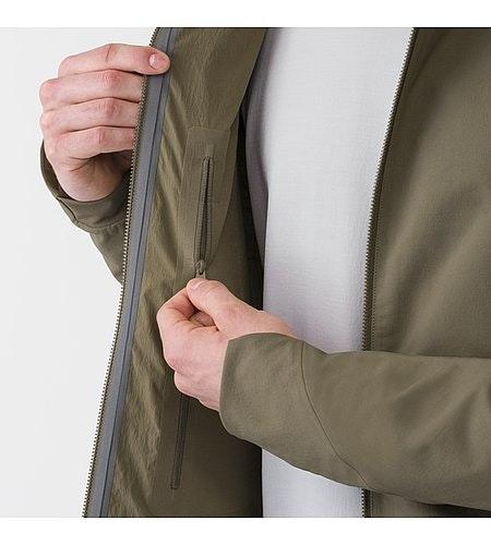 Isogon MX Jacket Mortar Internal Pocket