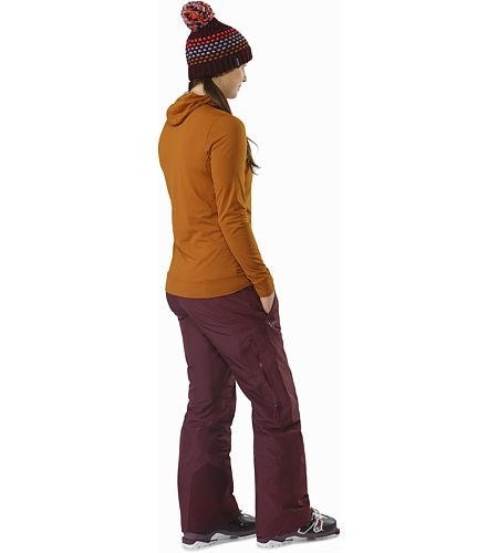 Kakeela Pant Women's Crimson Back View