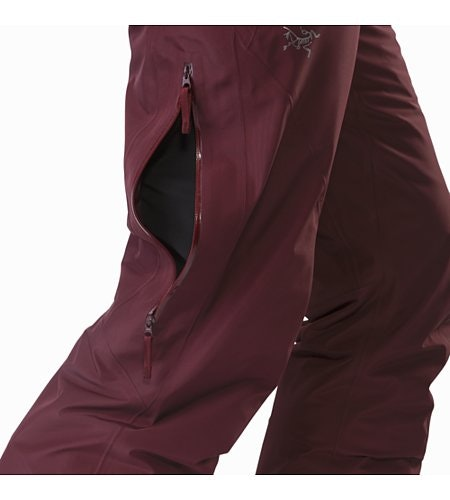 Kakeela Pant Women's Crimson Side Vent