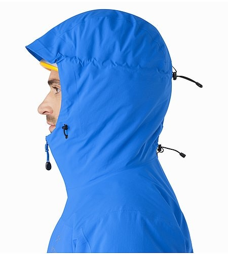 Kappa Hoody Rigel Helmet Compatible Hood Side View