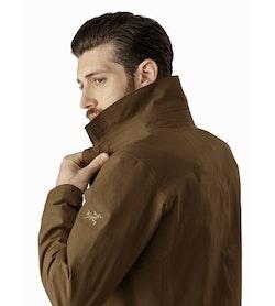 Keppel Trench Coat Griz Collar