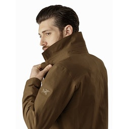 Keppel Trench Coat Griz Collar