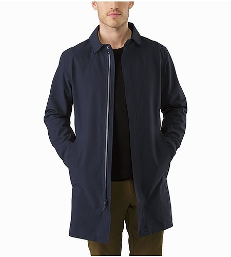 Keppel Trench Coat Kingfisher Outfit