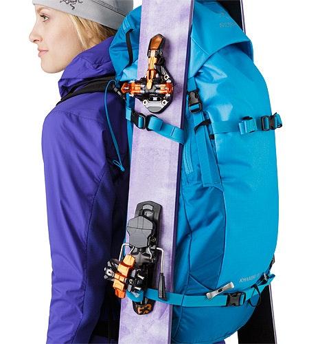 Khamski 31 Backpack Ionian Blue Kompressionsriemen 2