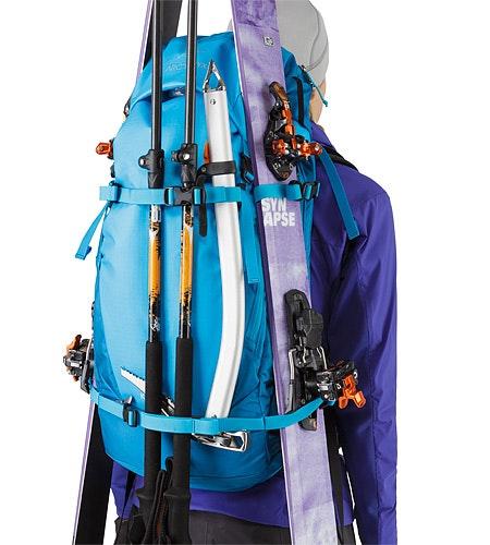 Khamski 31 Backpack Ionian Blue Kompressionsriemen