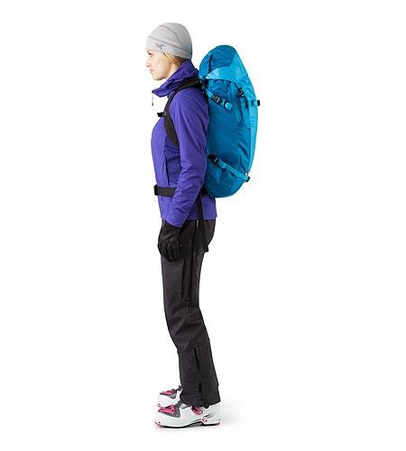 Khamski 31 Backpack Ionian Blue Passform