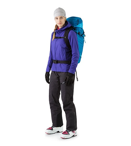 Khamski 31 Backpack Ionian Blue Front View