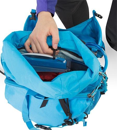 Khamski 31 Backpack Ionian Blue Trinksystem-Tasche