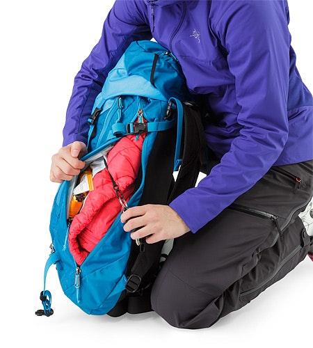 Khamski 31 Backpack Ionian Blue Schlüsselclip