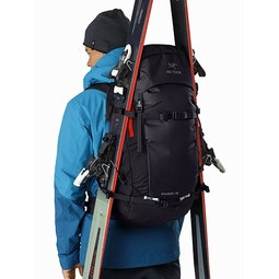Khamski 38 Backpack Black Dynasty A Frame