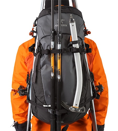 Khamski 38 Backpack Mercury  Kompressionsriemen 2