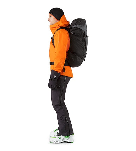 Khamski 38 Backpack Mercury Passform