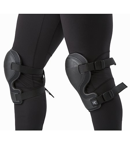 Knee Caps Black Fit