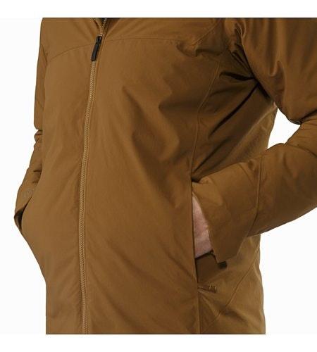 Koda Jacket Caribou Hand Pocket