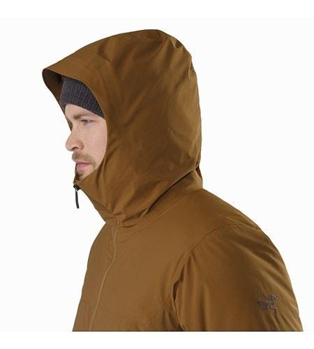 Koda Jacket Caribou Hood Up